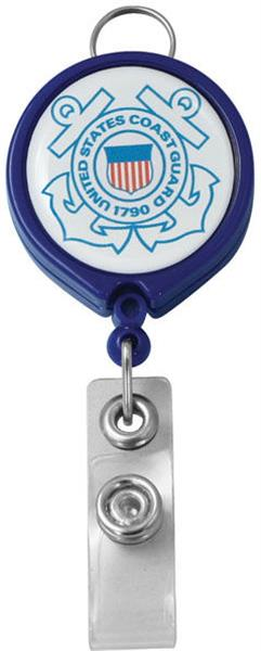 U.S. Coast Guard Retractable Badge Holder