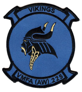 "VMFA(AW)-225 ""VIKINGS"" Fixed Wing Squadron Patch"