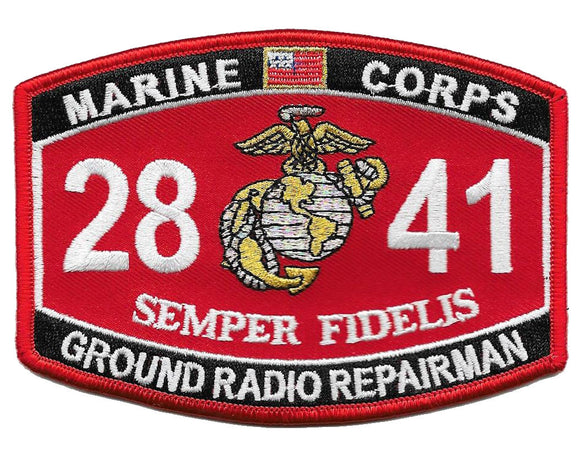 Ground Radio Repairman USMC Patch