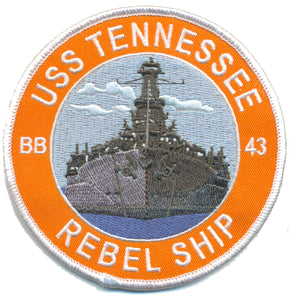 U.S.S. Tennessee BB-43 USMC Patch