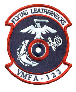 VMFA-122 Flying Leathernecks Squadron USMC Patch