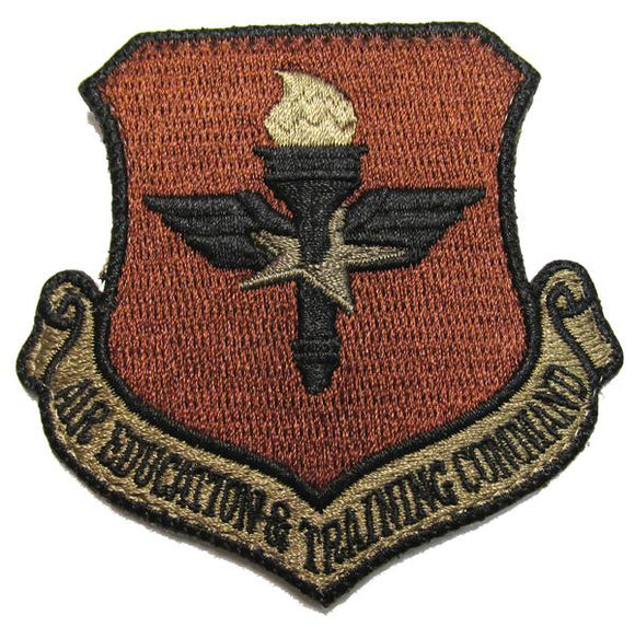 Air Education & Training Command OCP Patch - Spice Brown