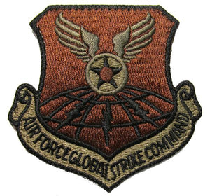 Air Force Global Strike Command OCP Patch - Spice Brown