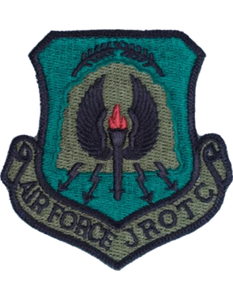 Air Force JROTC Patch - Subdued Shield Patch