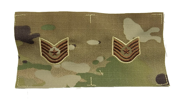 U.S. Air Force OCP Rank - SEW ON - Pairs