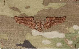 Flight Nurse OCP Air Force Badge