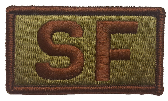 USAF Security Forces OCP Patch - Spice Brown - Air Force SF Patch