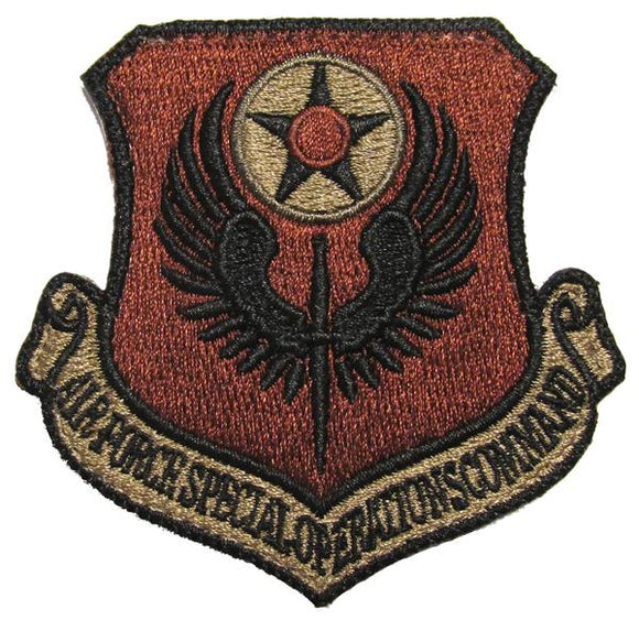 Air Force Special Operations Command OCP Patch - Spice Brown