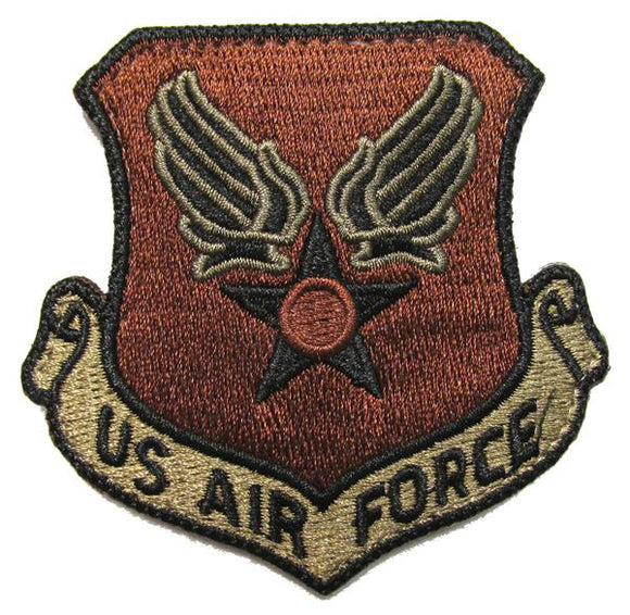 U.S. Air Force Wing & Star OCP Patch - Spice Brown