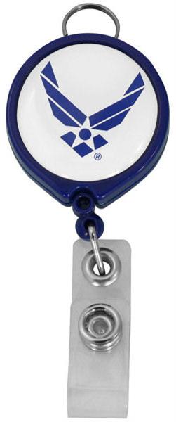 U.S. Air Force Retractable Badge Holder