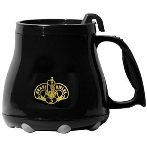 "Armored Cavalry ""Brave Rifles"" Wide Base Mug"