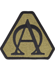 US Army Acquisition Executive Support Agency Multicam  OCP Patch
