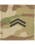 U.S. Army OCP ROTC CADET Rank - HOOK Fastener