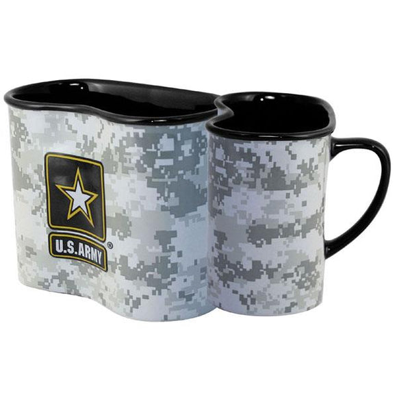 U.S. Army Star Canteen Shaped Ceramic Cup