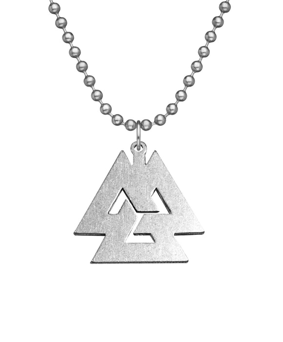 Genuine U.S. Military Issue Asatru Necklace with Dog Tag Chain