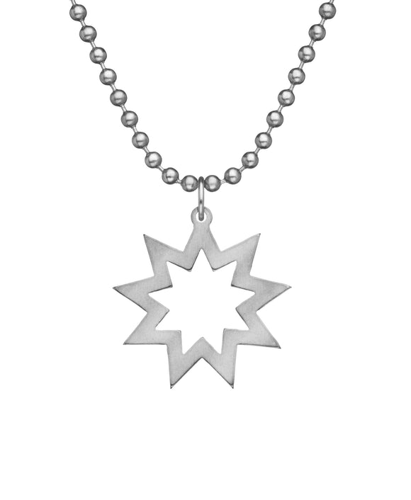 Genuine U.S. Military Issue BAHA'I Necklace with Dog Tag Chain