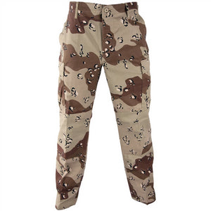 Military Uniform Supply BDU Pants - 6 COLOR DESERT CAMO