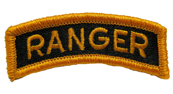 Ranger Tab - Gold on Black
