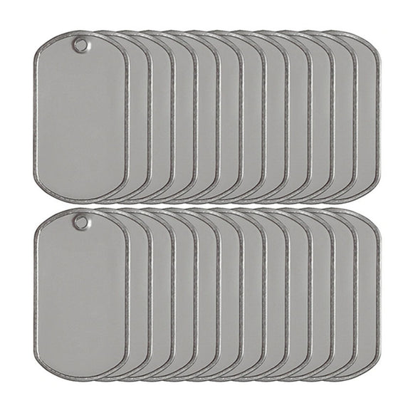 Blank Dog Tags in Bulk