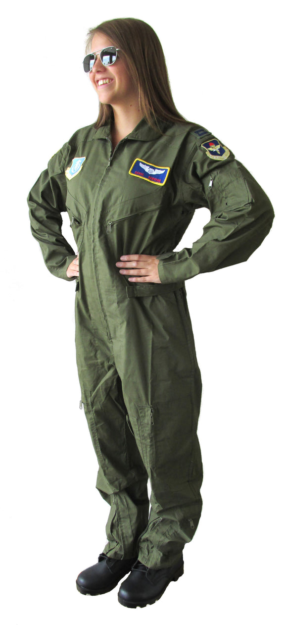Carol Danvers Air Force Costume - Carol Danvers Cosplay Flight Suit