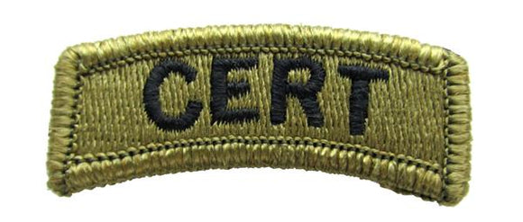 CERT OCP Patch Tab - Scorpion W2