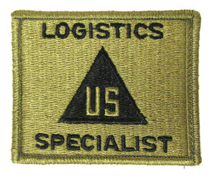 Civilian Logistics Specialist OCP Patch - U.S. Triangle Design