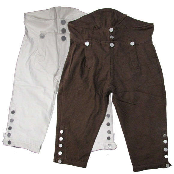 Men's Reproduction Revolutionary War Era Breeches - Colonial Breeches