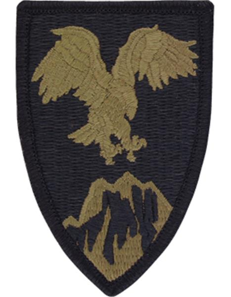 USAE Combined Forces Command - Afghanistan Multicam  OCP Patch