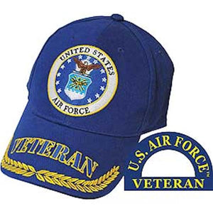 USAF Veteran Ball Cap - BLUE