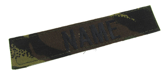 Dutch Forest Name Tape with Hook Fastener