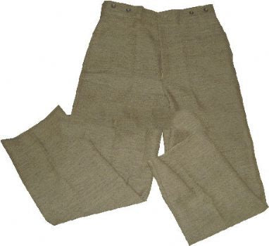 Kid's Civil War JEAN WOOL Confederate Foot Trousers
