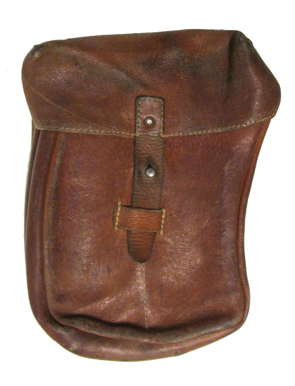 Czech Leather Ammo Pouch for VZ 58 - Used European Military Surplus