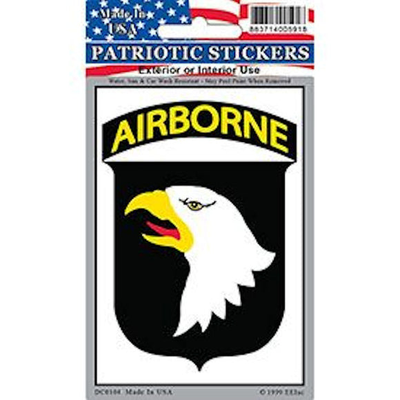 101st Airborne Decal Sticker