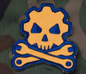 Death Mechanic Morale Patch - Mil-Spce Monkey