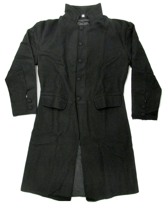 19th Century Wool Civilian Single Breast Frock Coat