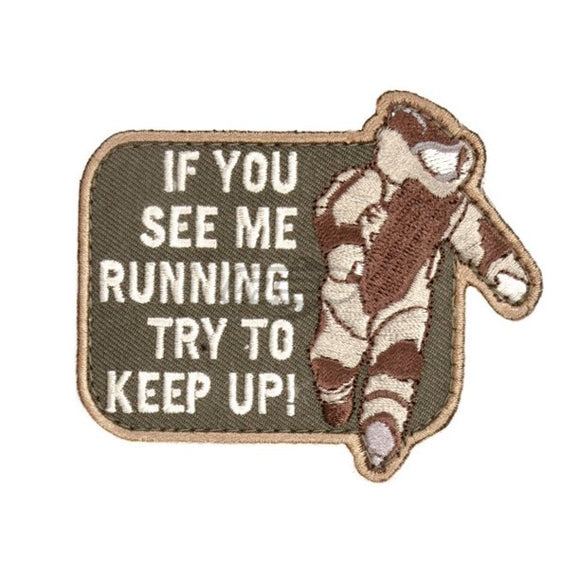 EOD Running Keep Up Morale Patch - Mil-Spec Monkey