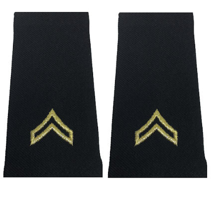 Army Uniform Epaulets - Shoulder Boards E-4 Corporal