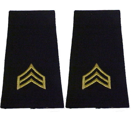 Army Uniform Epaulets - Shoulder Boards E-5 Sergeant