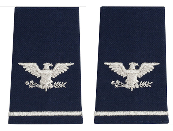 U.S. Air Force Epaulets - Shoulder Marks O-6 Colonel