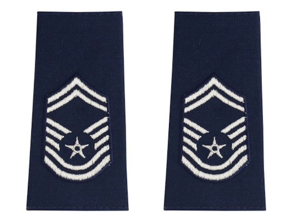 U.S. Air Force Epaulets - Shoulder Marks E-8 Senior Master Sergeant