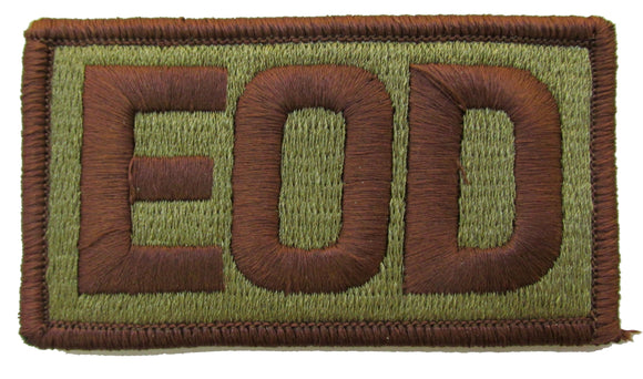 Air Force EOD OCP Patch Spice Brown - Explosive Ordnance Disposal