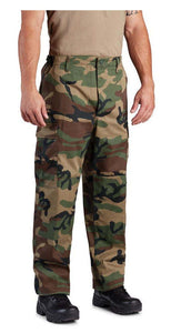 CLEARANCE Propper Woodland Camo BDU Pants - Size Large and XL