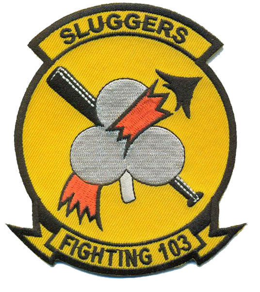 U.S. Navy Official Fighting VF-103 Patch - Sluggers