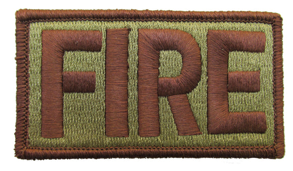 Air Force FIRE OCP Patch Spice Brown - Fire Fighters