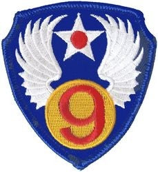 9th Air Force Small Patch
