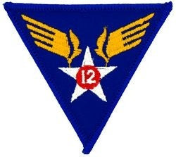12th Air Force Small Patch
