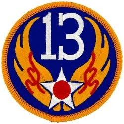 13th Air Force Small Patch
