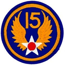 15th Air Force Small Patch