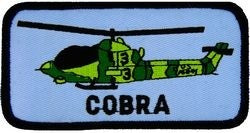Cobra Helicopter Small Patch