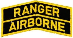 Ranger-Airborne Tabs Small Patch